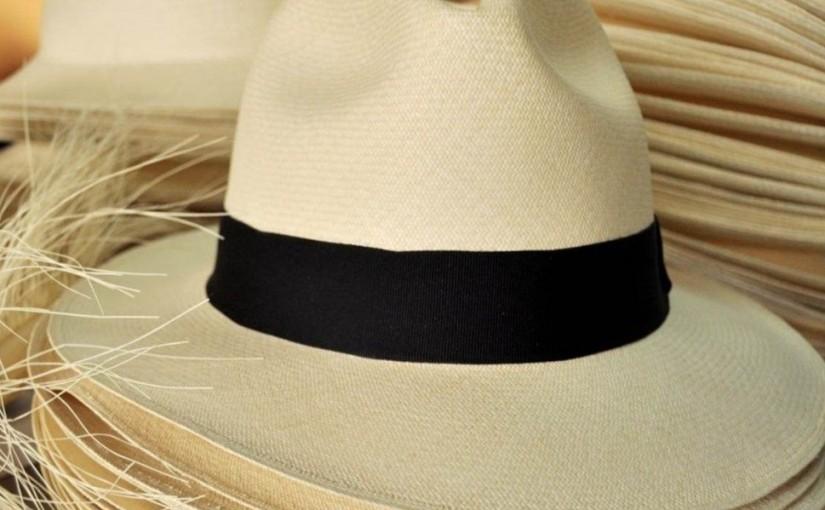 Chapeaux tissé à la main en Equateur.